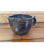 Vintage EB Stoneware Porcelain Handmade Studio Art Pottery Creamer Pitch... - $63.99