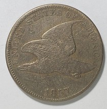 1857 Flying Eagle Cent Coin Lot# E 327