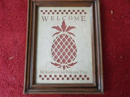 Vintage Figi Graphics Country Cuts framed wall hanging   (MS) - $3.99