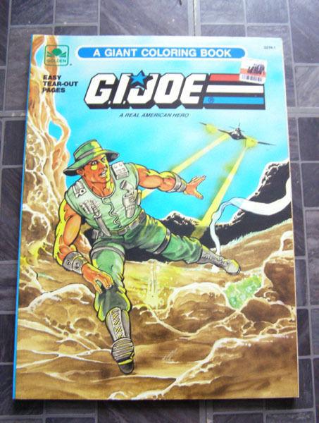 GI Joe A Giant Coloring Book Golden 1989 and 50 similar items