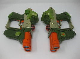 Tiger Electronics LAZER TAG Team Ops Green / Orange Deluxe Laser GUN - L... - $34.99