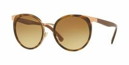 Neuf Versace 0VE2185 14122L Havane Monture, Verre Brun Dégradé, Size 54 - $475.20