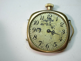 1915 Waltham Ruby Wire Lug Fahy's Montauk Watch For Restoration Or Trench Parts - $145.13