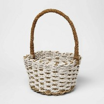 """17"""" x 10"""" Easter Seagrass Basket - Threshold - $19.95"""