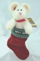 "Boyds Bears ""Havarti Chrismouse"" - #94864GCC - 6"" Mouse- Gcc Exclusive- 1998 - $23.99"