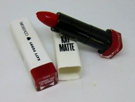 Lot of 2 COVERGIRL KATY KAT MATTE  Lipstick No.05 Crimson Cat 0.12oz. / ... - $8.42