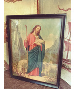 The Good Shepard 8 X 10 framed Picture Vintage - $25.00