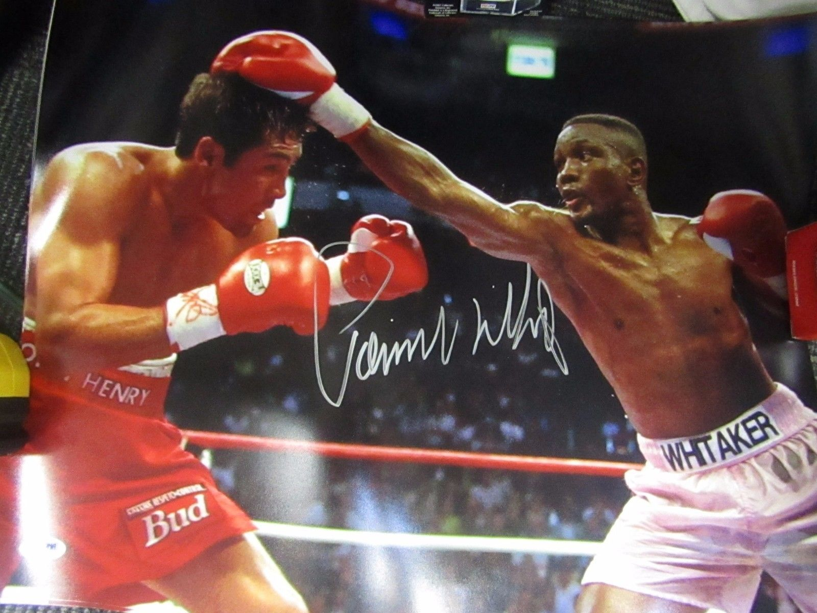 Primary image for Parnell Whitaker Autographed Signed 16x 20 Photograph picture PSA / DNA COA