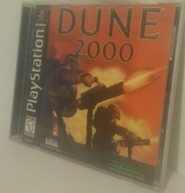 Dune 2000 (Sony PlayStation 1, PS1) Complete Video Game  - $19.75