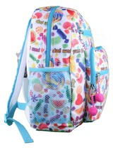 """NEW Girls Youth Kids YPC Yum Pop Candy Candies Scented 13"""" Backpack Schoolbag image 2"""