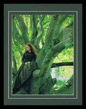 Meryl Streep in a Tree 1986 Framed 11x14 Photo Display  - $32.36