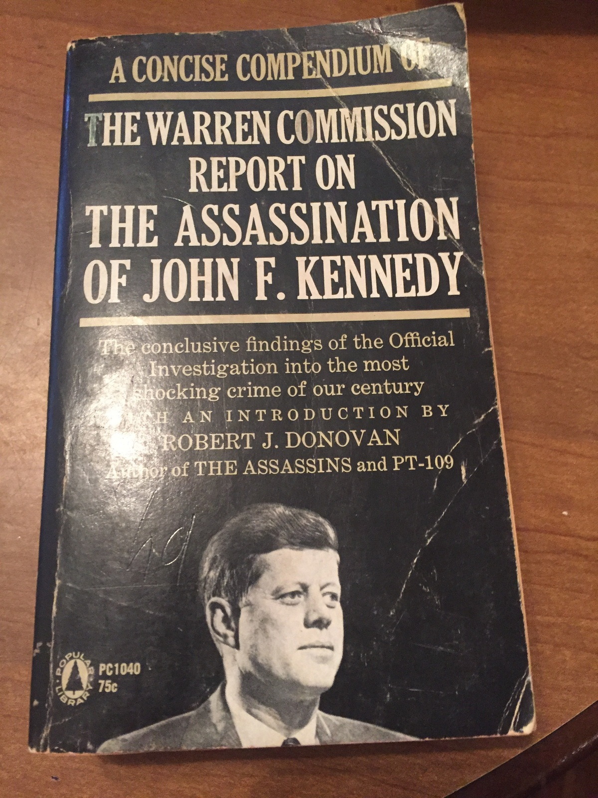 The Warren Comission Report on the Assassination of JFk ras1200