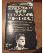The Warren Comission Report on the Assassination of JFk ras1200 - $10.84
