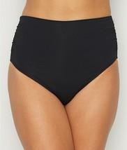Coco Reef CASTAWAY BLACK Classic Solid Fold-Over Bikini Swim Bottom, US ... - $25.74