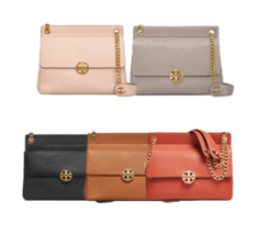 TORY BURCH Chelsea Flap Shoulder Bag 48730 with Free Gift & Free Shipping - $269.00