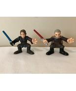Star Wars Action Figures Set of 2 Count Dooku and Anakin Skywalker Cake ... - $4.99