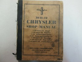 1941 1942 Chrysler Codes C28 C30 C33 C34 C36 C37 Service Shop Manual OEM - $25.06