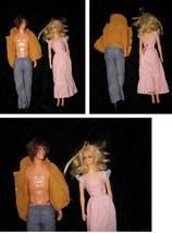 Mod Hair Ken & Living PJ Mattel Fashion Doll Lot 1970s - $26.99