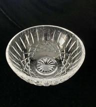 "Waterford Crystal Engraved Lismore Bowl - 6 1/2""W x 3 1/8""H - $47.69"