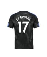 new DE BRUYNE #17 Manchester city 2017 2018 17 18 third Men Jersey - $26.98