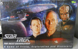 STAR TREK NEXT GENERATION LARGE BOARD GAME TRIVIA EXPLORATION an DISCOVE... - $39.00