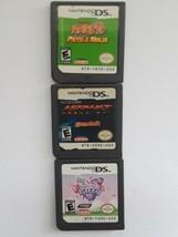 Nintendo Bundle Of 3 Games Naruto Path Of The Ninja My Little Pony Party... - $39.59