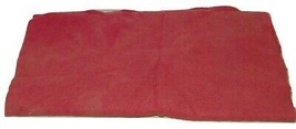 Coral Hand Dyed Wool Fabric 15632 16 X 39 Inches - $17.81