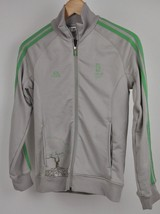 Women's ADIDAS 2008 Beijing China OLYMPICS Track Jacket Taupe/Lime Tree ... - $29.45