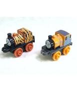 Thomas & Friends Minis Lot of 2 Trains Tank Engine Dash & Tiger Dash - EUC  - $9.79