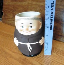 """Goebel Friar Tuck large Mug T 74/I  5 1/4"""" happy monk West Germany brown... - $27.80"""
