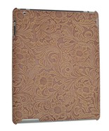 iPad 2 Snap on Cover Case Faux Tooled Leather - $12.82