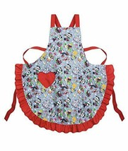 Disney Parks Santa Mickey Mouse and Friends Holiday Chef Apron - $34.64