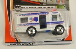 Matchbox Rescue Squad Police Mobile Command Center Die Cast 1/64 2001 44... - $8.13