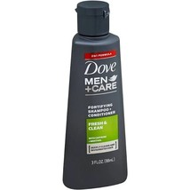 Dove Men + Care Fortifying Shampoo + Conditioner Fresh & Clean 3oz (BNZ56-299) - $3.99