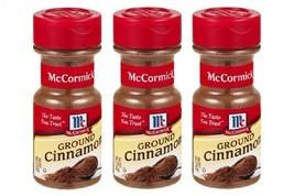 3 pack McCormick Ground Cinnamon - 2.37 oz - $16.82