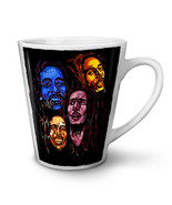 Bob Marley Colours Rasta NEW White Tea Coffee Latte Mug 12 17 oz | Wellcoda - $16.99+