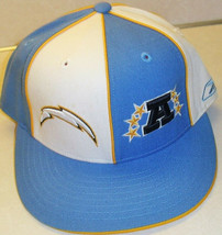 San Diego Chargers vintage reebok Fitted Hat sz. 7 1/8 nfl - £20.17 GBP
