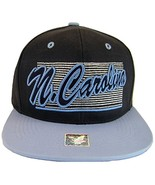 North Carolina 2-Tone Adjustable Cotton Snapback Baseball Cap (Dk Blue/L... - $12.95