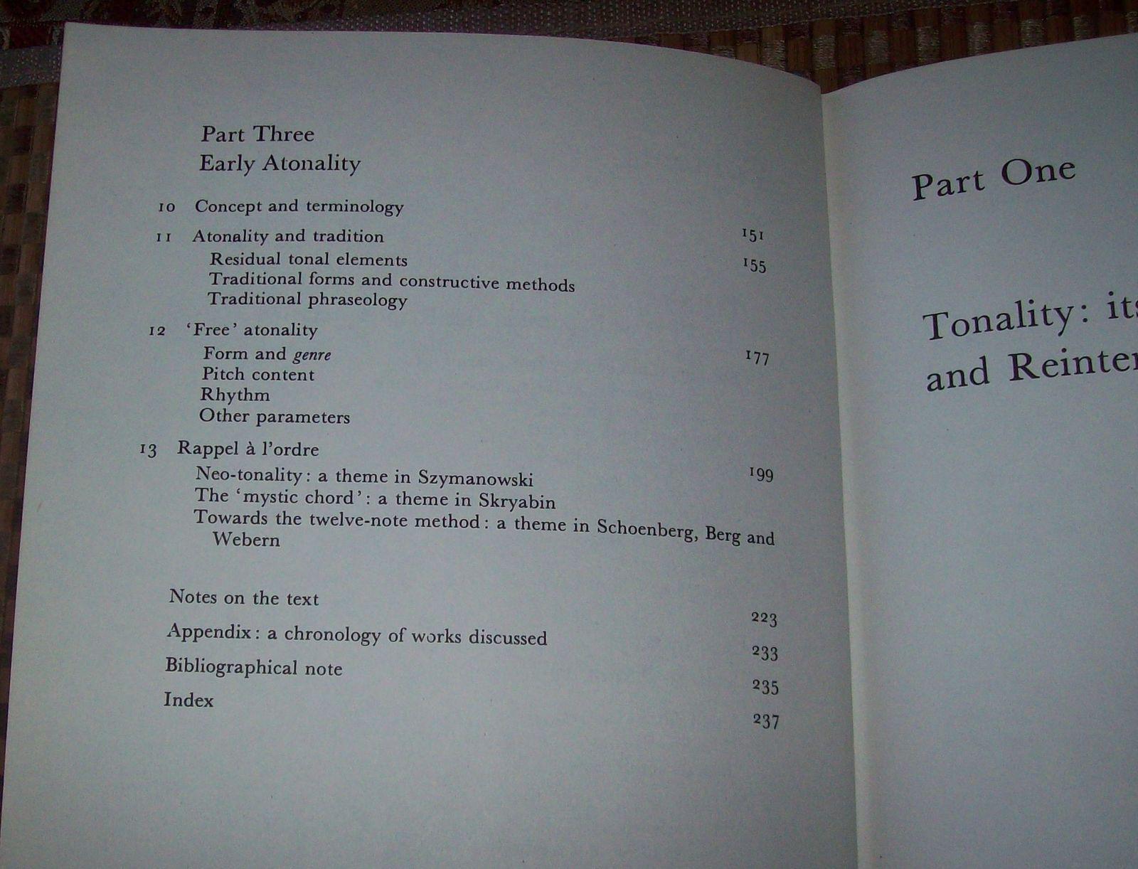 Music in Transition 1900-1920 by Jim Samson 1977 HBDJ