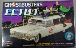 Ghostbusters ECTO1 Polar Lights Model Kit 6812 Skill Level 1 SEALED NIB 2002 - $30.95