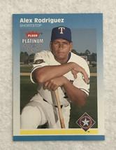 A236 ALEX RODRIGUEZ CARD 2002 FLEER PLATINUM  #173 RANGES - $4.75