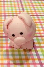 Pig fondant cake topper - $30.00