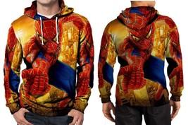Spiderman Awesome Hoodie Fullprint Men - $41.80
