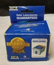 Color Laboratories ET18 Color Cartridge, Replaces Epson T018201 NEW FREE... - $10.39