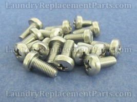 100 PACK FRONT PANEL SCREW FOR WASCOMAT W73,123,183 PART# 132742 - $25.95