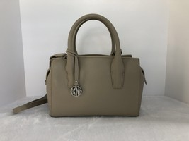 DKNY Small Vintage Style Leather Satchel Color- Sandstone - $85.00