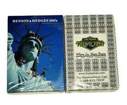 2 Decks Playing Cards Tropicana Las Vegas Benson & Hodges 100's Vintage... - $15.29