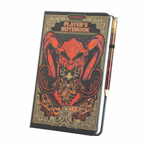 Dungeons and Dragons Notebook and Pencil Multi-Color - $24.98