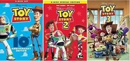 DVD - Toy Story Trilogy: Toy Story / Toy Story 2 / Toy Story 3 (5 Disc E... - $68.94