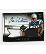 2014 Panini Phenoms Rookie Asa Watson 4 color Jersey Card # 190 AUTOGRAPHED - $9.49